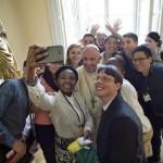 Assim foi o almoço do Papa Francisco com jovens na JMJ Cracóvia