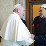 O Papa recebe o grão-imã de Al-Azhar