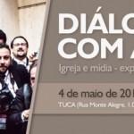 Dom Odilo recebe jornalista Roberto Kovalick em colóquio sobre comunicação