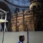 Igrejas cristãos iniciam restauração do Santo Sepulcro