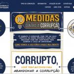 Brasil debate 10 medidas anticorrupção