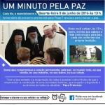 Oração pela paz recorda encontro do Papa com Abbas e Peres