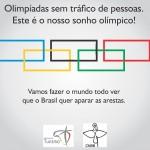 """Pastoral do Turismo da CNBB promove """"Campanha por um sonho Olímpico"""""""