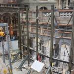 Santo Sepulcro é coberto por restauração mas permanece acessível