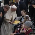 Palavras do Papa Francisco em sua visita ao Hospital Pediátrico