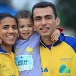 Casal olímpico e católico do Brasil dá testemunho de família e fé em Deus