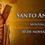 SANTO ANDRÉ APÓSTOLO