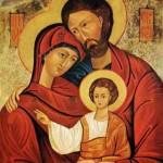 SAGRADA FAMÍLIA – JESUS, MARIA e JOSÉ.
