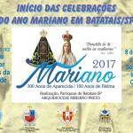 PARÓQUIAS DE BATATAIS JUNTAS NO ANO MARIANO