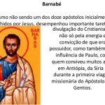 SÃO BARNABÉ – DIA 11 DE JUNHO