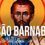 Reflexão Evangelho 11/06/2019 Festa Apóstolo São Barnabé