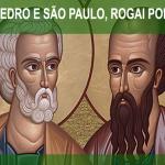 Santos do Dia -São Pedro e São Paulo Apóstolos