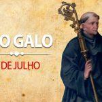 Santo do Dia – São Galo – 01/07/2019
