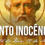 Santo Inocêncio I Papa – 28/07/2019