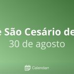 Santo do Dia – São Cesário de Arles – 30/08/2019