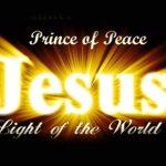 JESUS É A LUZ DO MUNDO, QUEM NELE CRER NÃO FICARÁ NAS TREVAS.