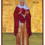 Santo do dia – Santa Tecla – Virgem mártir (Séc II)