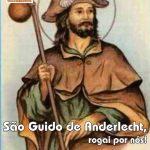Santo do Dia : São Guido de Anderlecht – 12/09/2019